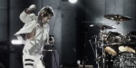 30 Seconds to Mars performs at the Godfrey Street Laneway